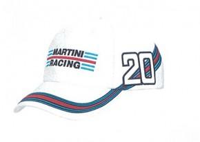 マルティーニレーシングキャップ白